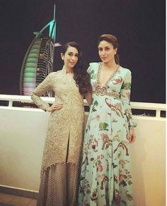 Stylish Fashion Goals by The Kapoor Sisters - Karishma Kapoor & Kareena Kapoor !!