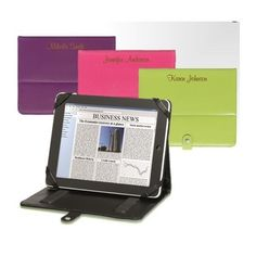 Personalized Laser Engraved iPad/Tablet Case Cascade Laser Awards and Engraving.