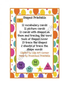 Shapes+Printable+from+Preschool+Printables+on+TeachersNotebook.com+-++(20+pages)++-+Printable:+The+activities+in+this+pack+are+designed+to+have+fun+while+the+child+learns+a+variety+of+preschool+concepts+including+number,+color,+patterns,+sequence,+size,+letters+and+more.