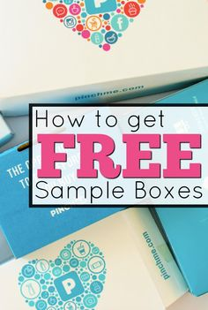 I am a free sample/subscription box addict! Sadly, those boxes can be so expensive! Stuff For Free, Free Stuff By Mail, Beauty Box Subscriptions, Free Subscriptions, Free Sample Boxes, Freebies By Mail, Get Free Samples, Pinch Me, Free Coupons