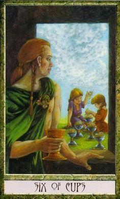 druidcraft tarot six of cups - Pesquisa Google