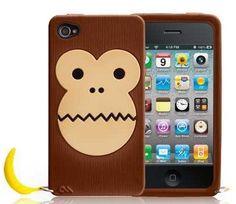 Case-Mate Creature Bubbles Monkey iPhone 4 / 4S Hülle