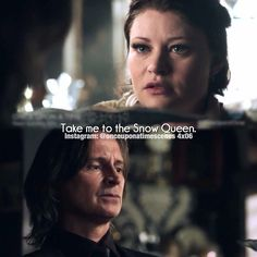 You really have to have some respect for Rumple in this scene. He could have forbid Belle go, and thus reviling the truth about the dagger, but he knew that Belle needed to do this, and went with her to help. Rumbelle.