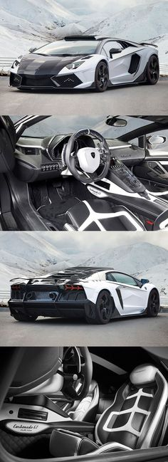 Lamborghini Aventador LP1600-4 Mansory Carbonado GT (would keep the hood black)