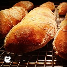 Love the smell of freshly baked bread? Check out this recipe for Rustic Baguettes!