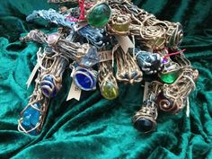 Beautiful unique Wizard Wands, handmade by me here at Thumbelina Bliss. Also I make Infinity Wands too! Wizard Wand, Wands, Bliss, My Etsy Shop, Charmed, Unique, Check, How To Make, Handmade
