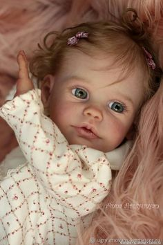 Custom Maxi by Sigrid Bock 23 inches Full Limbs & Limited Reborn Toddler Girl, Reborn Baby Dolls, Lifelike Dolls, Realistic Dolls, Cute Baby Dolls, Cute Babies, Reborn Nursery, Emotional Support Animal, Baby Painting