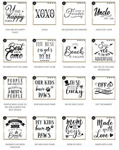 Limited Time Offer - All Files In The Shop - SVG Bundle example image 7 Wall Art Quotes, Sign Quotes, Funny Quotes, Free Printable Quotes, Printable Wall Art, Free Printables, Use E Abuse, Diy Craft Projects, Crafts