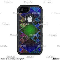 Bluish Elements OtterBox iPhone 5/5s/SE Case