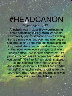 Annabeth Chase Headcanon