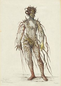 Loudon Sainthill, A tree creature for The Tempest (1951)