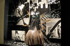 Hermes' Store Windows Go Comic Book Style with Fred Harper