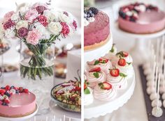 Gugguu aamu - Strictly Style by Hanna Väyrynen Christening Party, Party Pops, Yummy Cakes, Cake Cookies, Baking Recipes, Bridal Shower, Bakery, Cheesecake, Sweets