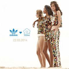 adoro FARM - do instagram @adoro FARM + adidas