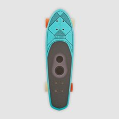 Globe GSB Blazer Bluetooth Speaker Teal Cruiser Skateboard. Pin-To-Win your Christmas wish list at Surfdome!
