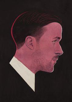 Paul X. Johnson Illustration / Ryan Gosling