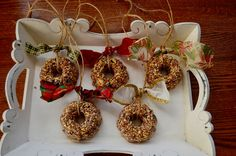 bird seed ornaments without corn syrup