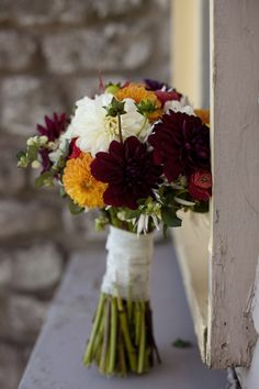 Wedding photography by Magdalene Photography. Flowers by Petal Pushers.