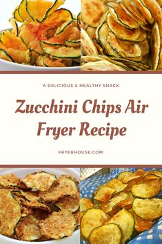 Zucchini Chips Air Fryer Recipe How exactly do you pull this off? Here's a very easy air fryer zucchini fries recipe that might just give yo. Air Fryer Recipes Zucchini, Air Fryer Recipes Potatoes, Air Fryer Oven Recipes, Air Fryer Dinner Recipes, Recipe Zucchini, Air Fryer Recipes Vegetarian, Healthy Cooking Recipes, Air Fryer Recipes Vegetables, Veggies