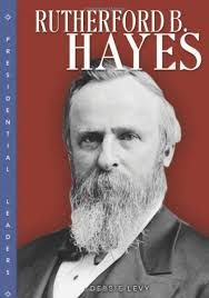 Rutherford B Hayes (October 4, 1822 – January 17, 1893) the 19th US President (1877–81). He became President at the end of the Reconstruction Era of the United States through a complex Compromise of 1877.