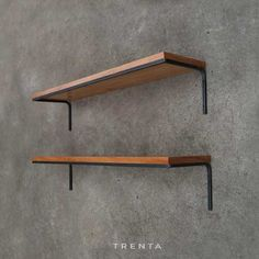 Estante Repisa Biblioteca Industrial Madera/hierro - 1.20 Mt - $ 2.250,00 en Mercado Libre Cabinet Shelving, Metal Shelves, Wall Shelves, Shelving Design, Shelf Design, Dark House, Steel Furniture, Furniture Inspiration, Interior Decorating