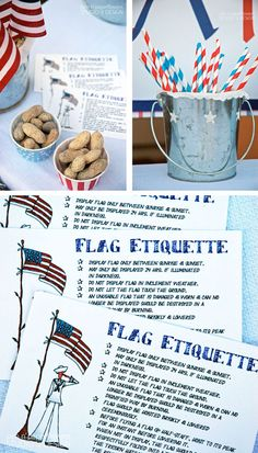 Flag Etiquette-fly a flag year round but follow the rules.