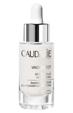 CAUDALÍE Vinoperfect Radiance Serum  available at #Nordstrom   Mix a radiance agent into your foundation or tinted moisturizer. This stuff is magic.