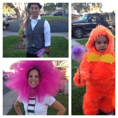 Lorax Halloween costume  The Once- ler, truffula tree, and the Lorax lorax costume