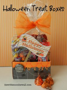 Halloween Treat Box/Place Card - bjl