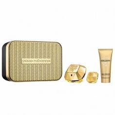 Estuche promocional del #perfume para mujer Lady Million de #PacoRabanne https://perfumesana.com/paco-rabanne-mujer/916-paco-rabanne-lady-million-estuche-edp-50-ml-spray-body-lotion-100-ml-miniatura-5-ml-3349668537679.html