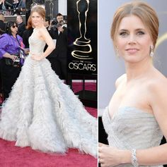 This Is A Super Elegant Gorgeous Dress Worn By Amy Adams At The 2017 Oscars Red Carpet