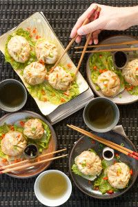 healthy dumplings-use cabbage leaves instead of wonton wrapper for paleo recipe
