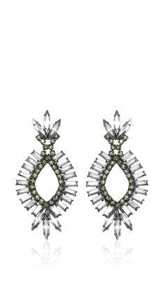 Elizabeth Cole Aurora Crystal Earrings