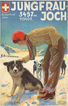 Jungfraujoch. ca. 1935 (OSCAR WEISS)