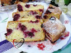 Bakina kuhinja - kolač sa kiselim mlekom i višnjama Macedonian Food, Kolaci I Torte, Torte Cake, Pound Cake Recipes, Coffee Cake, No Bake Cake, Easy Desserts, Baking Recipes, Deserts