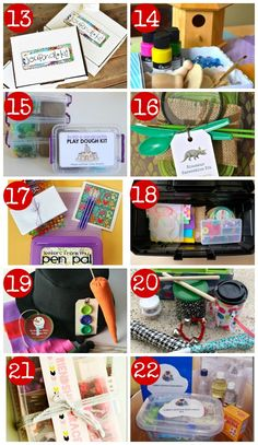 DIY creative gift ideas for kids Gifts for kids DIY Gift Kits for Kids Craft Kits For Kids, Diy Gifts For Kids, Gifts For Girls, Diy For Kids, Crafts For Kids, Craft Gifts, Baby Girls, Creative Gifts, Creative Ideas