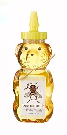 All Natural Baby Wash  Wash Your Baby with Conficence  Essential Oils Honey Aloe Vera and Other Natural Ingredients in a Wonderful Baby Washing Formulation  Your Baby Will Love the Teddy Bear Bottle  8 Fl Oz >>> For more information, visit image link.