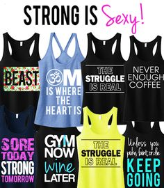 Pick Any 3 #WORKOUT / #FITNESS TANK #Tops & Get 15% Off #Bundle by #NobullWomanApparel, for only $63.95! Click here to buy https://www.etsy.com/listing/166153381/3-workout-fitness-tank-tops-15-off?ref=shop_home_feat_4