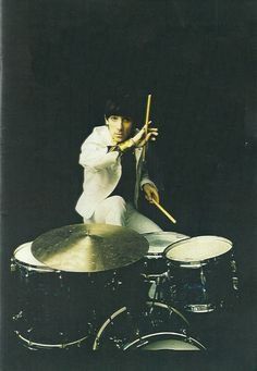 Keith Moon drummer of The Who