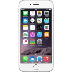 Apple iPhone 6 Plus - - Silver (Unlocked) Smartphone. Unlocked to be used with Any GSM Sim Card. Memory: iPhone 6 isn't just bigger - it's better in every way. Larger, yet thinner. Iphone 6s Plus, Iphone 6 16gb, Iphone Se, Free Iphone, Apple Iphone 6, Buy Apple, Bluetooth, Whatsapp Text, Shopping