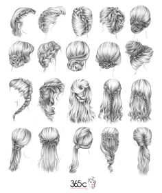 Hairstyles to try...