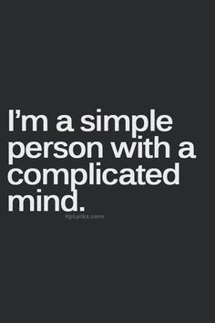 And thats who I am..