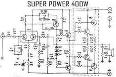 Power Amplifier Audio Circuit in 2019 Valve Amplifier, Class D Amplifier, Audio Amplifier, Electronic Circuit Design, Electronic Engineering, Electrical Engineering, Electrical Circuit Diagram, Electric Circuit, Electronic Schematics