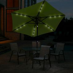 How To Use Umbrella Lights Amazing Umbrella Pole Light For Patio Umbrellas Camping Tents Or Outdoor