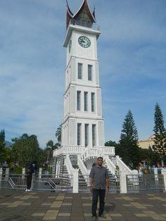 At Jam Gadang - Bukittinggi