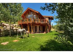 """This """"cabin"""" is a perfect fusion of mountain design with contemporary lines, located 10 minutes from downtown Aspen & 5 minutes from skiing at Snowmass."""