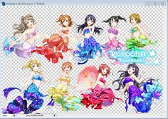 love live - mermaids