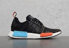 """This Foot Locker-Exclusive adidas NMD R1 """"Rainbow"""" Is Arriving Now in Stores."""