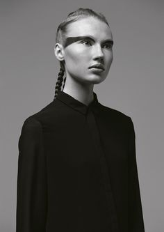 Duality - Reexon Escobar - Fashion Photography - Fashion Editorial - Black - Zara