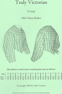 Schnittmuster Truly Victorian TVE 45 1911 Narrow panel blouse
